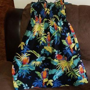 Dresses & Skirts - Like New Tropical Hawaiian Dress!!! Size L